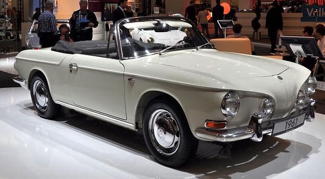 VW Karmann Giha, 1961