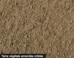 Terre végétale amendée criblée