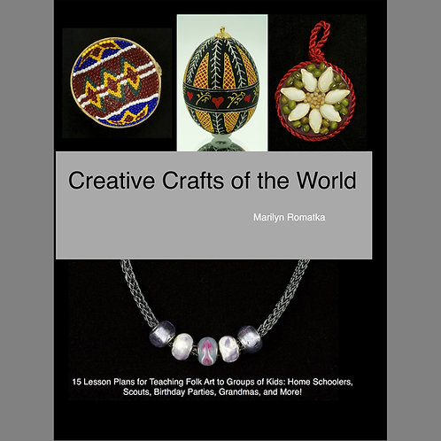Creative Crafts of the World Book