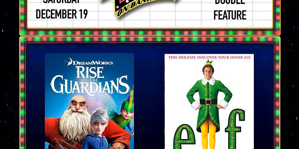 Saturday Night Double Feature & Take Pictures with Santa!