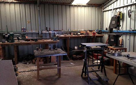 Sculpture studio
