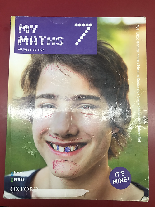My Maths 7 AUSVELS Edition (SECOND HAND)
