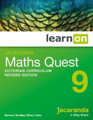 Jacaranda Maths Quest 9 Victorian Curriculum LearnON (DIGITAL)