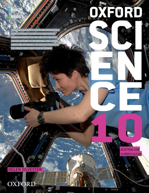 Oxford Science 10 Australian Curriculum Student Book + obook (PRINT + DIGITAL)