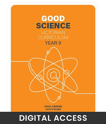 Good Science 9 Victorian Curriculum Teacher's Edition (DIGITAL)