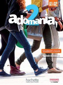 Adomania 2/A1-A2 Textbook English Version and DVD
