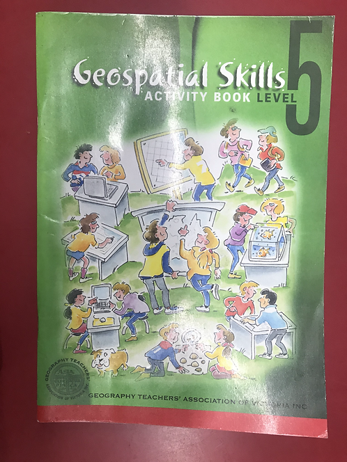 Geospatial Skills Level 5 Activity Book (SECOND HAND)
