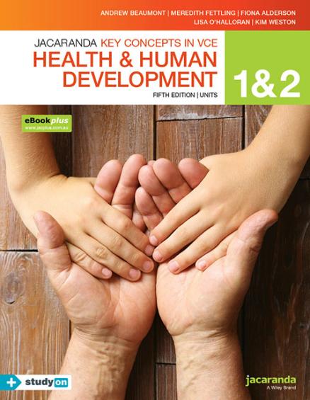Key Concepts VCE Health and Human Development Units 1&2 5E (PRINT + DIGITAL)