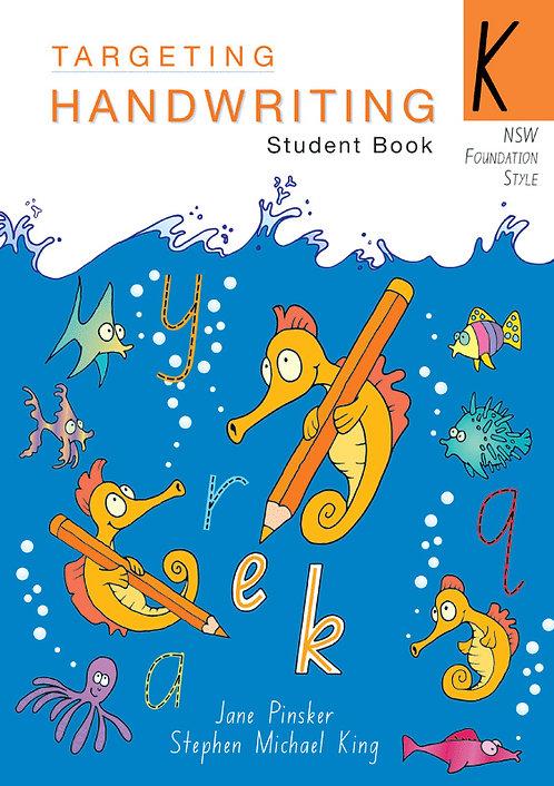 Targeting Handwriting: NSW Year K Student Book