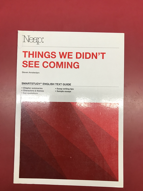 NEAP Smartstudy Guide: Things We Didn't See Coming (SECOND HAND)
