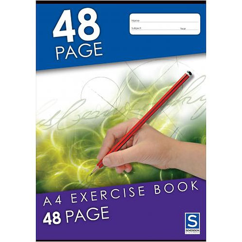 1x Exercise Book A4 8mm 48 Page