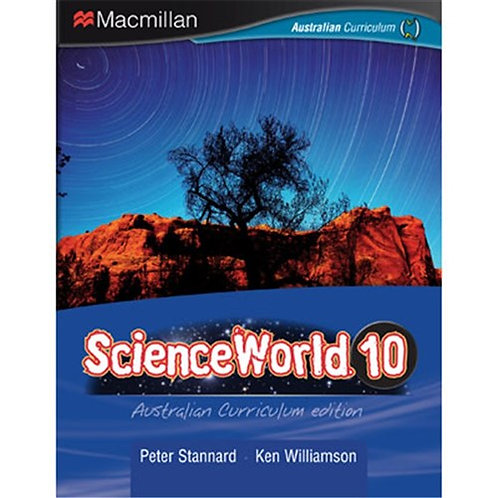 ScienceWorld 10 Australian Curriculum edition