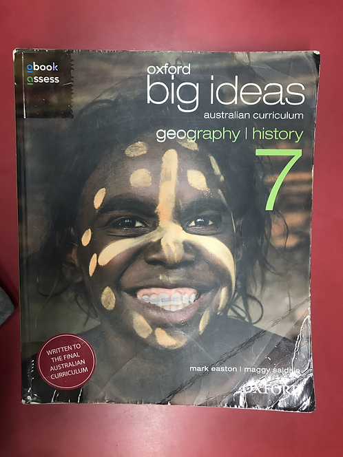 Oxford Big Ideas Geography/History 7 AC (SECOND HAND)
