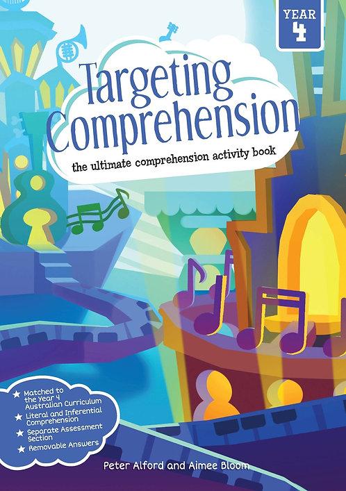 Targeting Comprehension Student Workbook Year 4