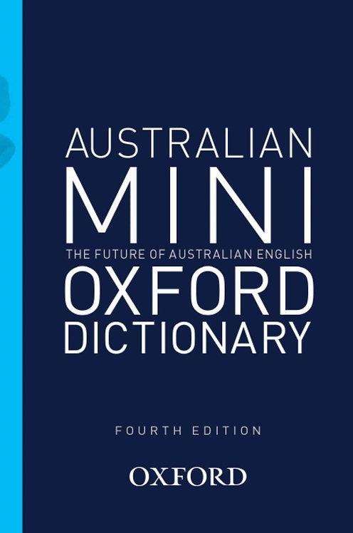 Australian Mini Oxford Dictionary 4E