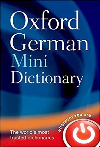 Oxford German Mini Dictionary 5E