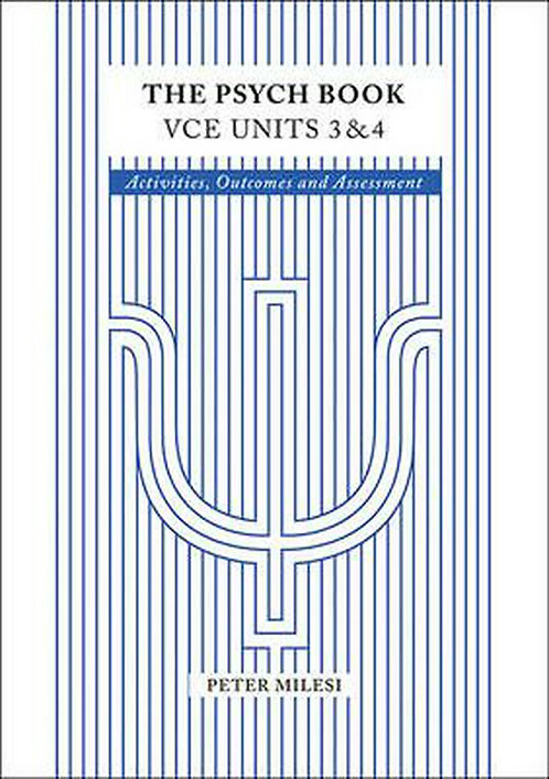 The Psych Book VCE Units 3&4 Workbook 5E