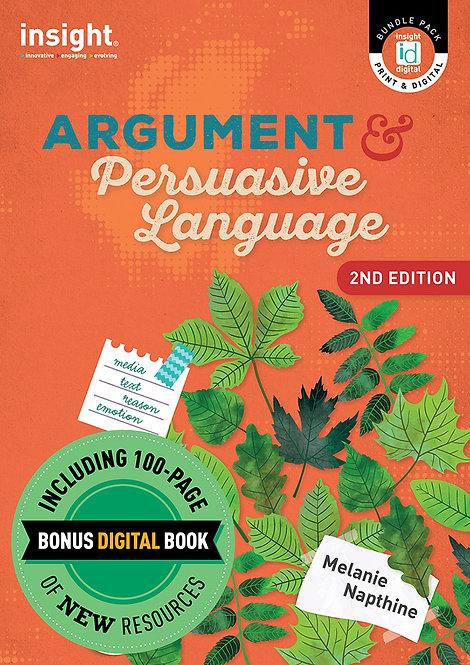 Argument and Persuasive Language 2E 2021 Bonus Bundle