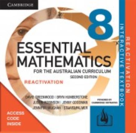 Essential Maths for the Australian Curriculum 8 2E Reactivation Code
