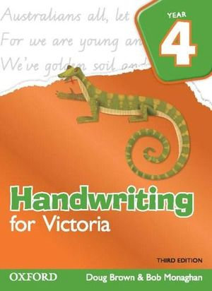 Handwriting for Victoria 4 3E