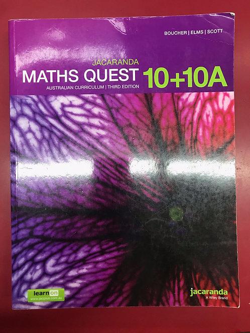 Jacaranda Maths Quest 10 AC 3E (SECOND HAND)