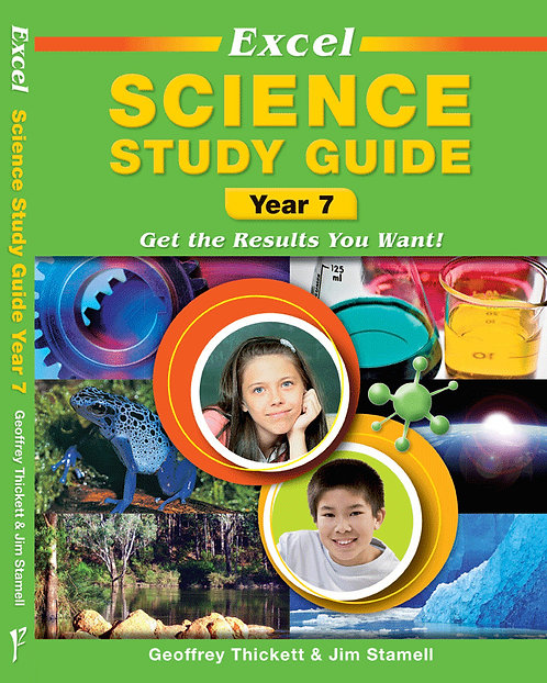 Excel Study Guide: Science Year 7