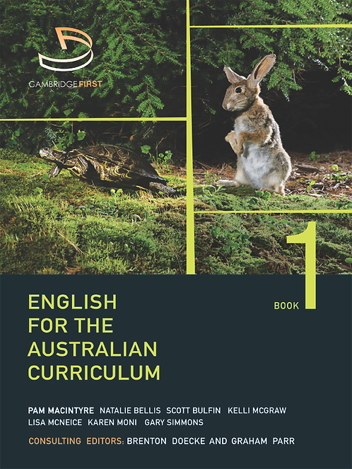 English for the Australian Curriculum Book 1 (PRINT + DIGITAL)