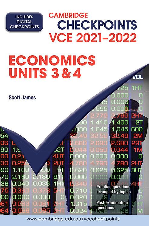 Cambridge Checkpoints VCE Economics Units 3&4 2021