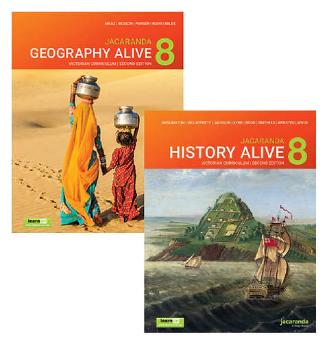 Geography Alive 8 2E Victorian Curriculum + History Alive 8 2E (PRINT + DIGITAL)