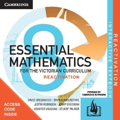 Essential Mathematics for the Victorian Year 8 Reactivation Code (DIGITAL)