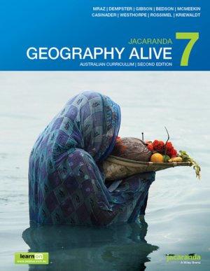Jacaranda Geography Alive 7 2E Australian Curriculum LearnON & Print (PRINT+DIG)