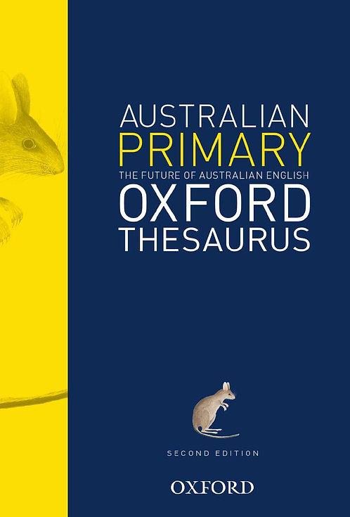 Australian Primary Oxford Thesaurus 2E