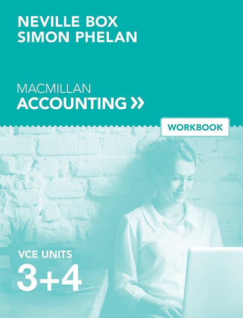 Macmillan VCE Accounting Units 3&4 6E Workbook