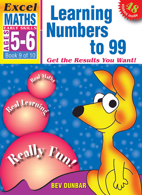 Excel Early Skills: Maths Book 9 Learning Numbers To 99