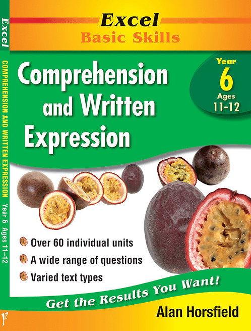 Excel Basic Skills:Excel Comprehension & Written Expression Years 6