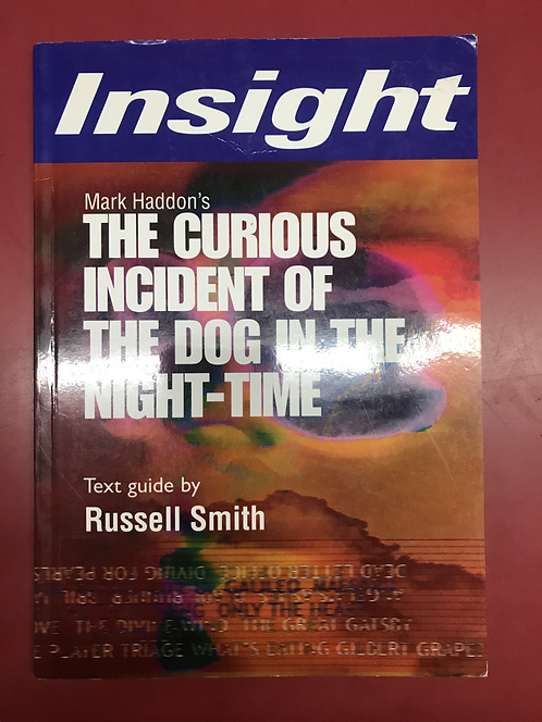 Insight: The Curious Incident of the Dog in the Night-Time (SECOND HAND)