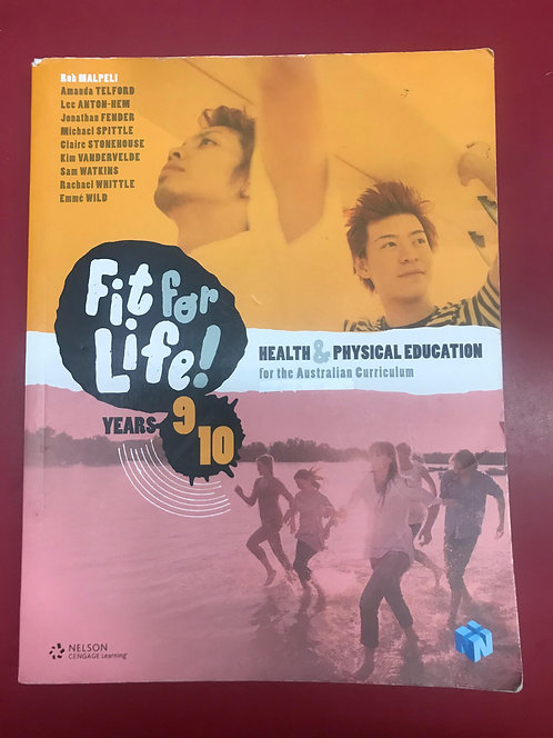 Nelson Fit for Life! for AC Levels 9&10 Student Book (SECOND HAND)