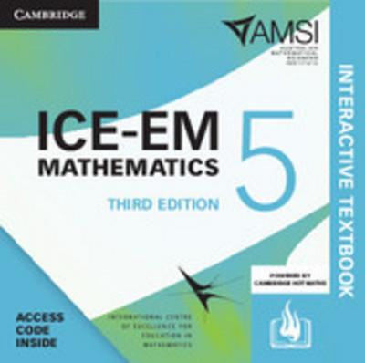 ICE-EM Mathematics Year 5 3E Interactive Textbook (DIGITAL)