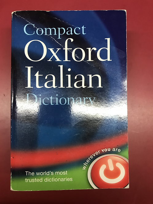 Compact Oxford Italian Dictionary (SECOND HAND)