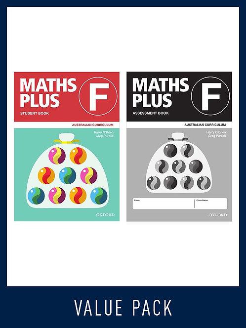 Maths Plus Australian Curriculum Student and Assessment Book F Value Pack 2020