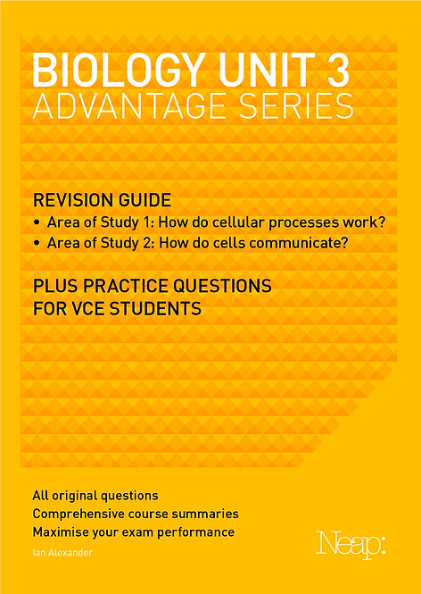 Biology Unit 3 Advantage Series (2017 Ed)