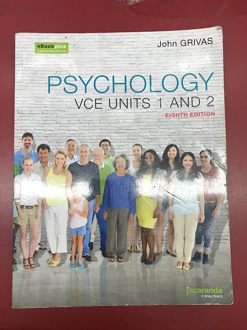 Psychology VCE Units 1&2 8E eBookPLUS & Print (SECOND HAND)