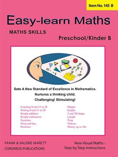 Basic Skills - Easy Learn Maths Pre / Kinder B (Basic Skills No. 145B)