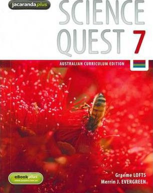 Science Quest 7 Australian Curriculum Edition & eBookPLUS + Workbook