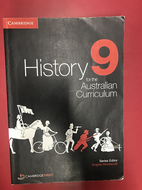 Cambridge History 9 for the Australian Curriculum (SECOND HAND)