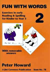 Fun with Words Book 2 (colour) Yrs K to 3 (Basic Skills No. 77)