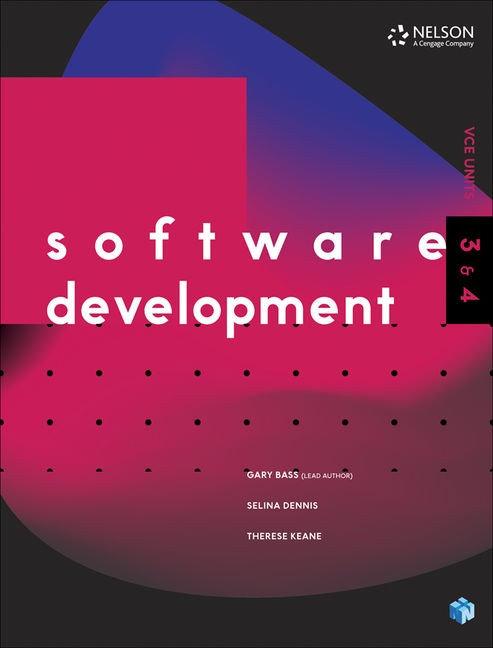 Software development Units 3&4