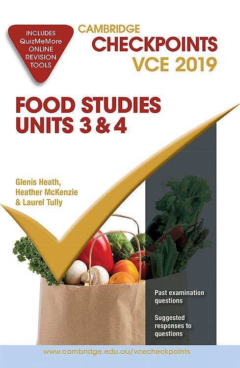 Cambridge Checkpoints VCE Food Studies Units 3&4 2019