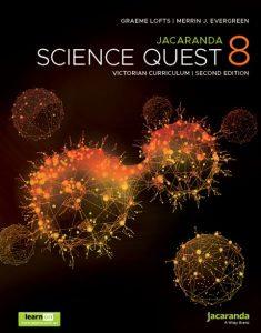 Jacaranda Science Quest 8 2E Victorian Curriculum + AssessON (PRINT + DIGITAL)