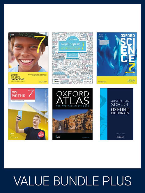 Oxford Value Bundle Plus Victorian Curriculum Year 7 (PRINT + DIGITAL)